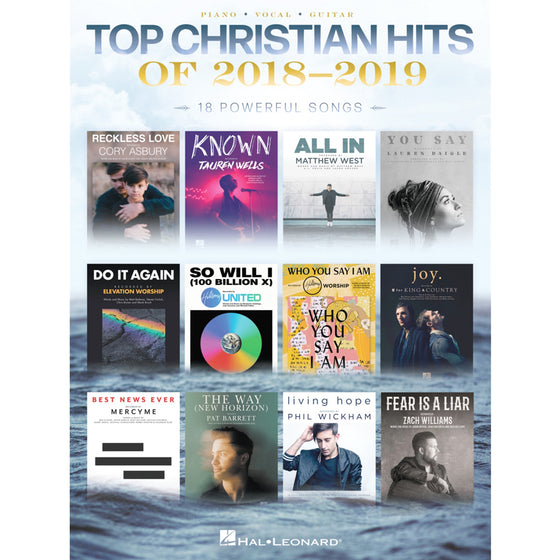 HAL LEONARD 289815 Top Christian Hits of 2018-2019