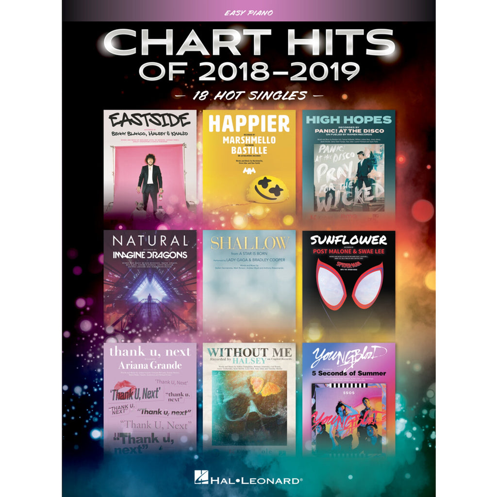 HAL LEONARD 289817 Chart Hits of 2018-2019 Easy Piano