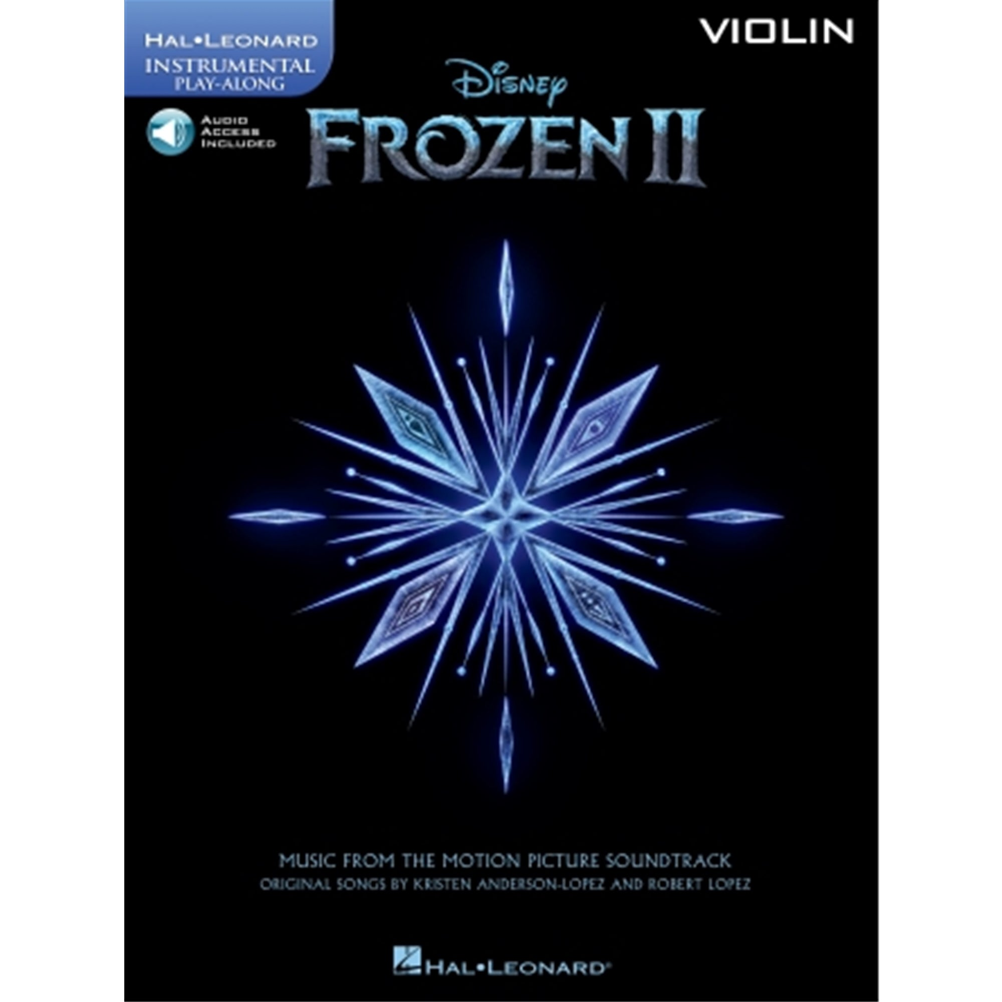 HAL LEONARD 329584 Frozen 2 Violin Play-Along