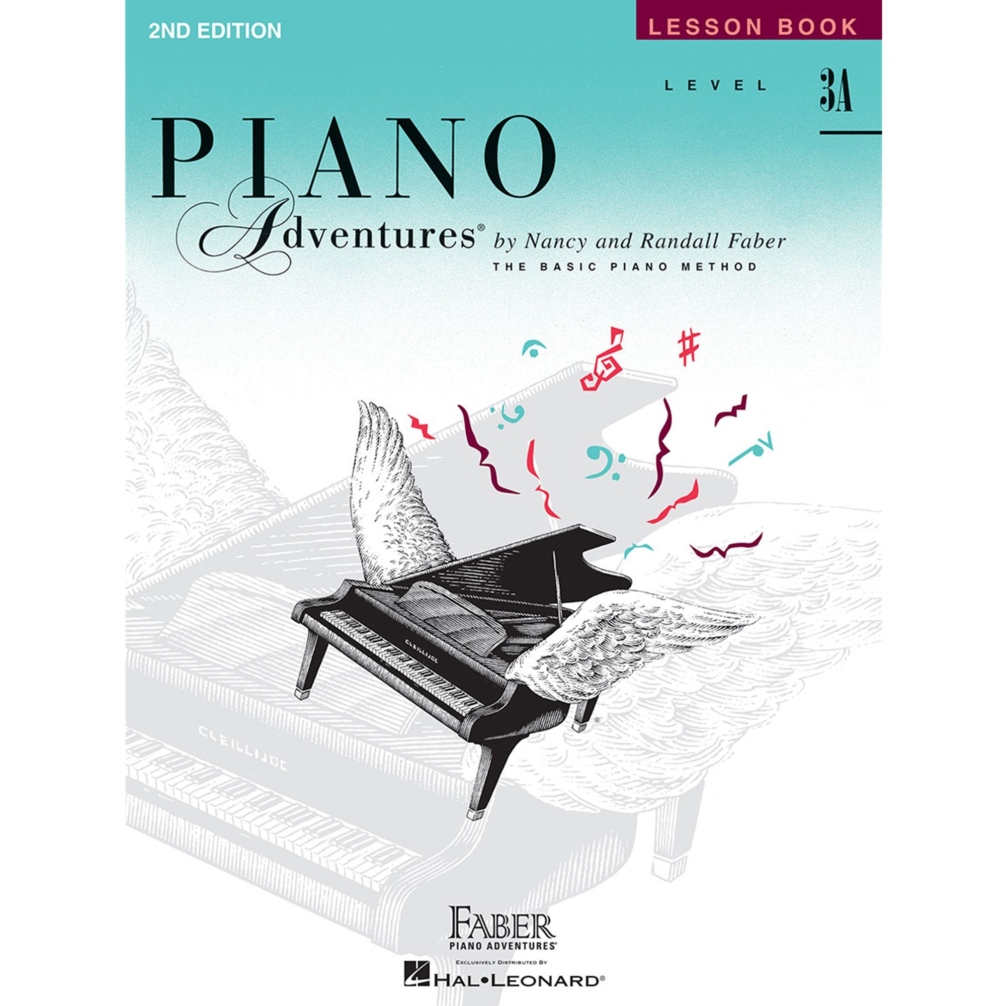 FJH PUBLISHER 420180 Piano Adventures Lesson Level 3A