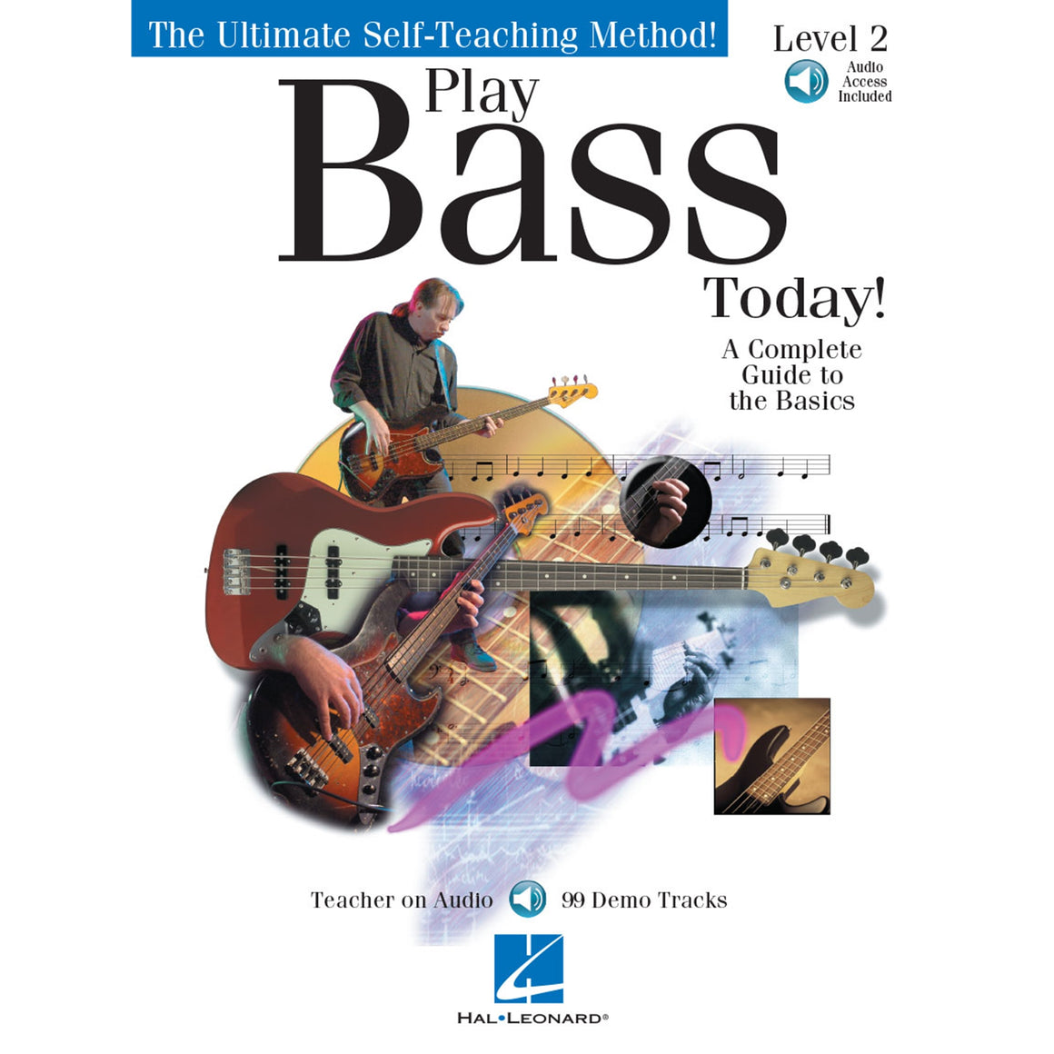 HAL LEONARD 842036 Play Bass Today! - Level 2