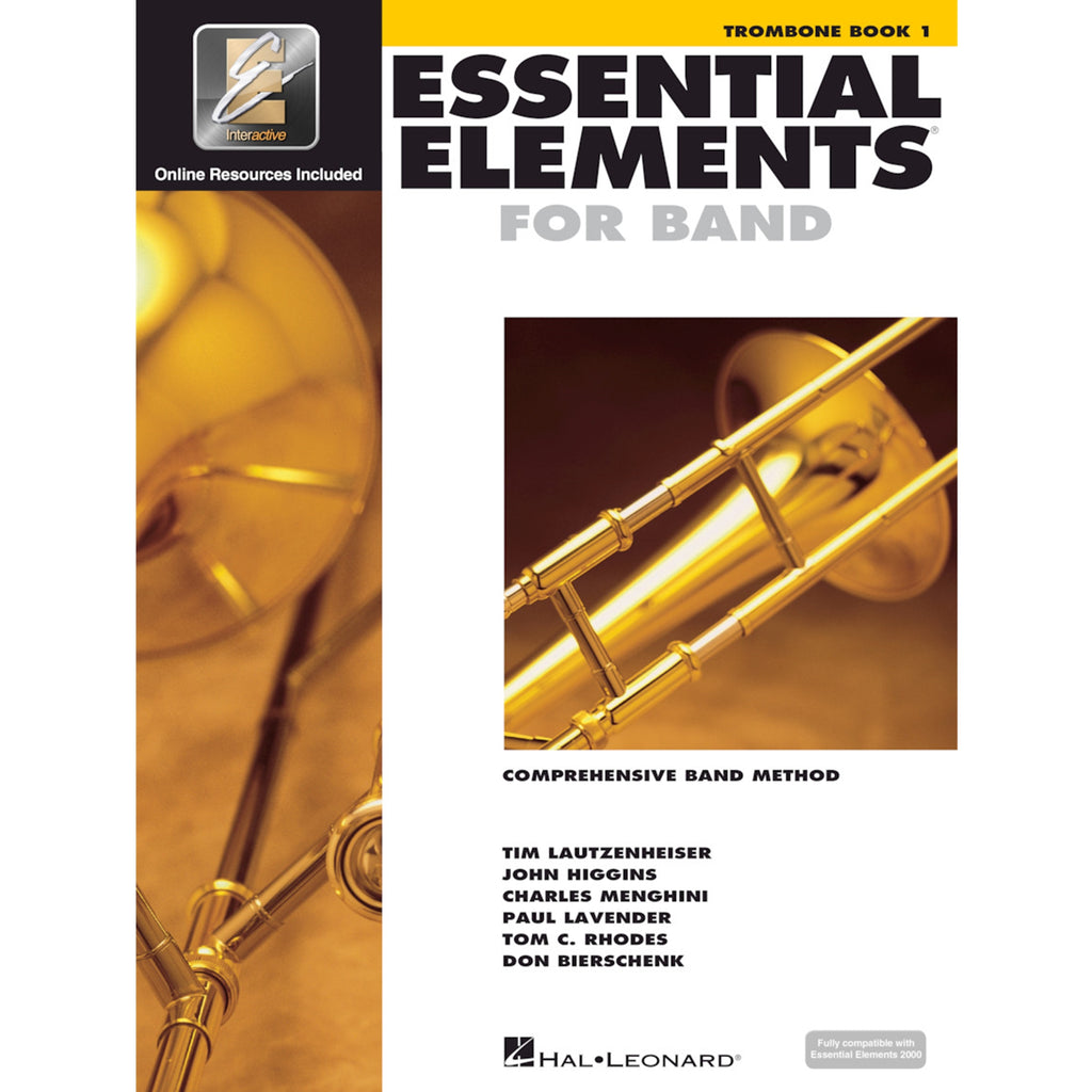 HAL LEONARD HL00862577 Essential Elements Trombone Bk 1