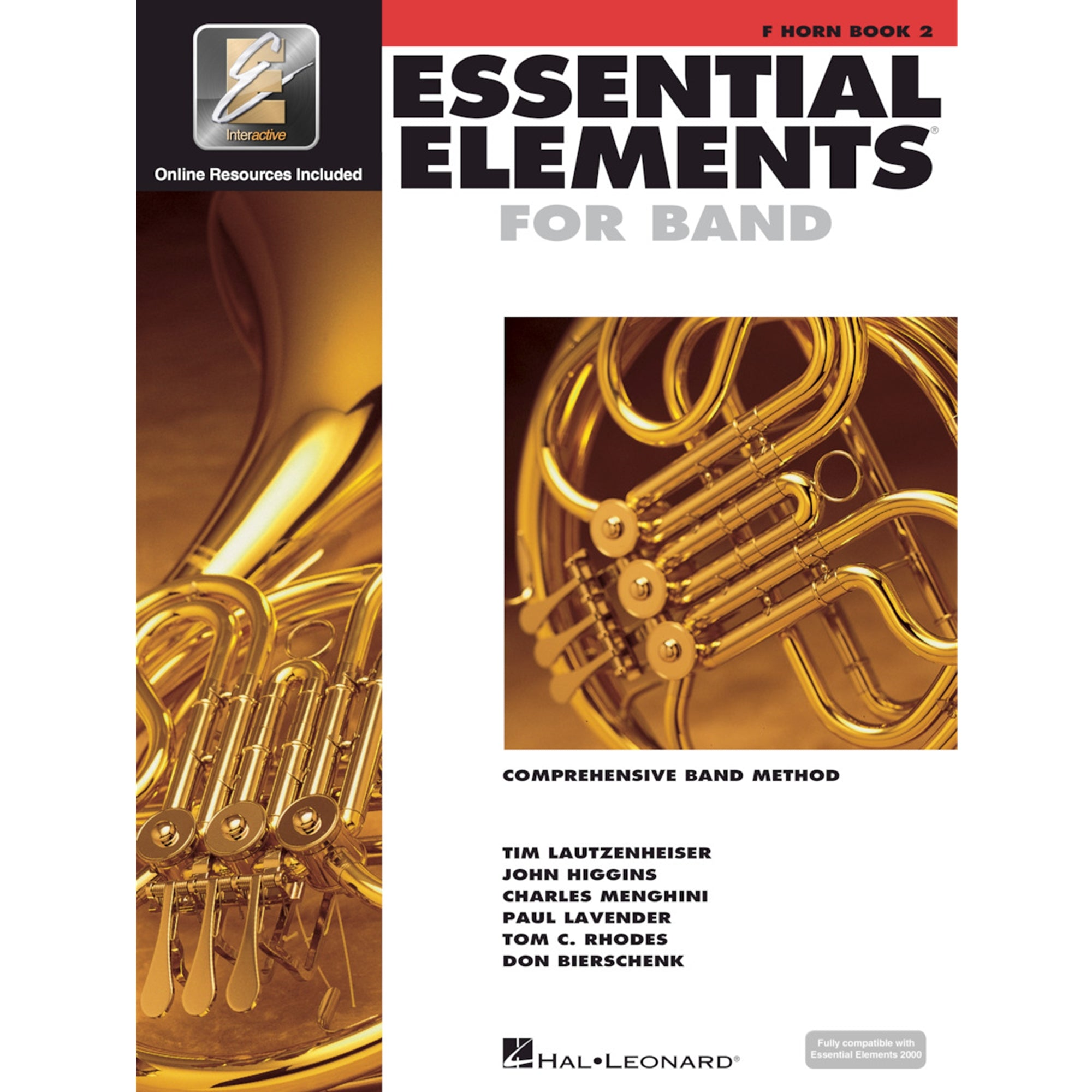 HAL LEONARD HL00862598 Essential Elements French Horn Bk 2
