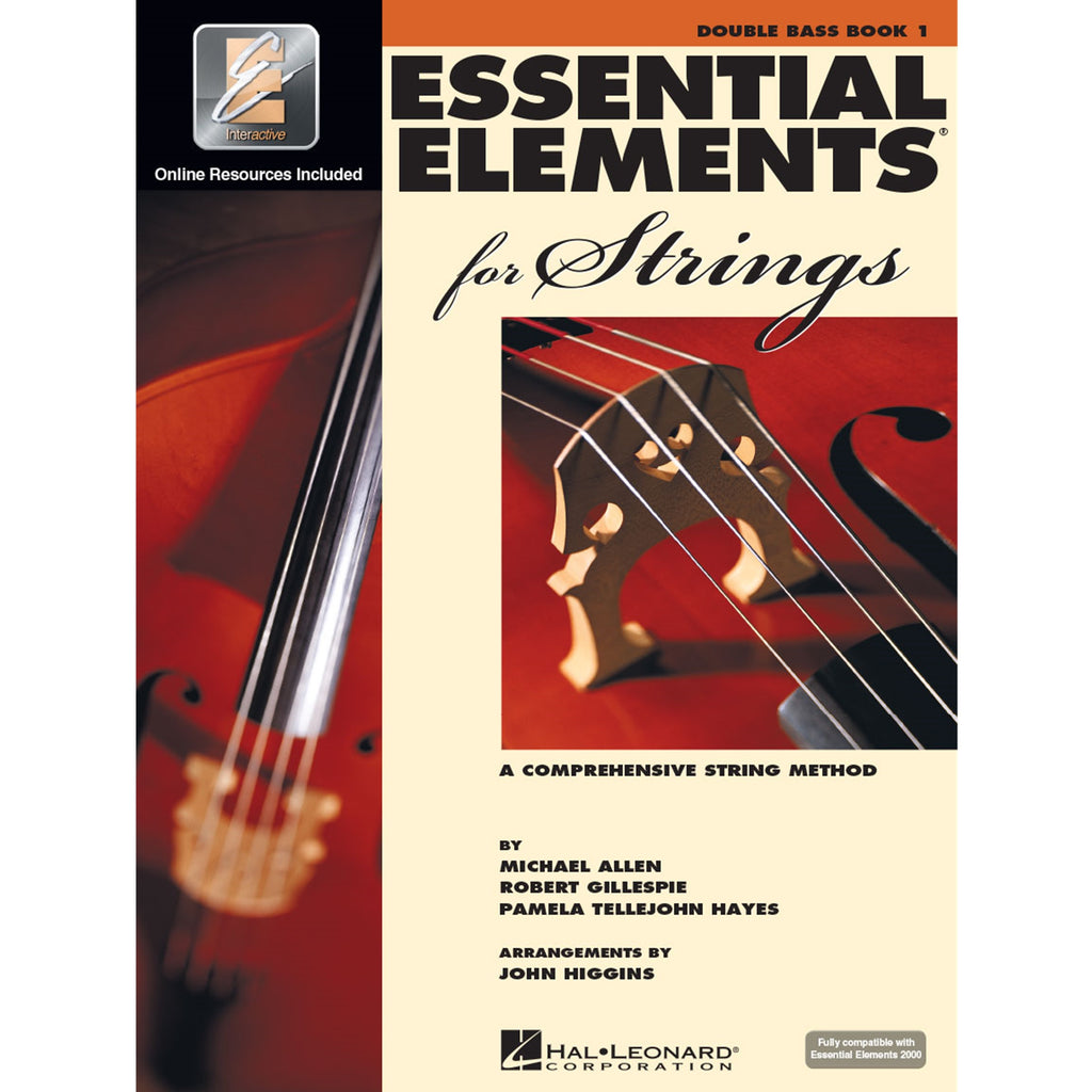 HAL LEONARD HL00868052 Essential Elements Double Bass Strings Book 1