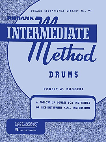HAL LEONARD 4470260 Rubank Intermediate Method - Drums