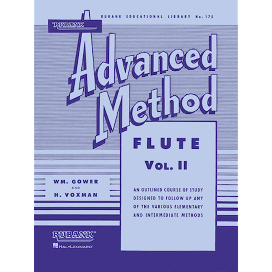 HAL LEONARD HL04470400 Rubank Advanced Method - Flute Vol. 2