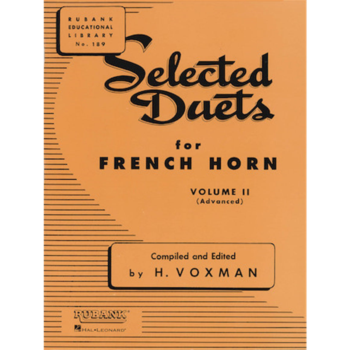 HAL LEONARD 4471010 Selected Duets French Horn Vol 2