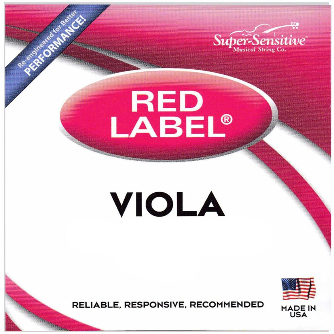 SUPER SENSITIVE SS4107 Viola String Set