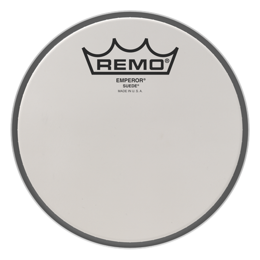 "REMO BE0810MP 10"" Suede Emperor Marching Tom Head"