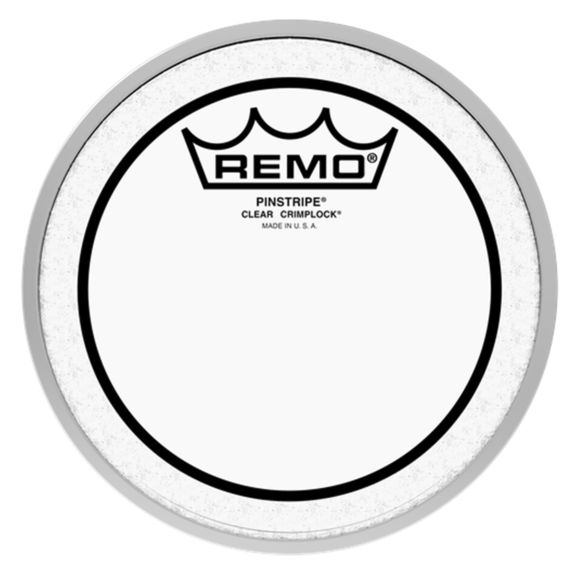 "REMO PS0306MP 6"" Clear Pinstripe Marching Head"