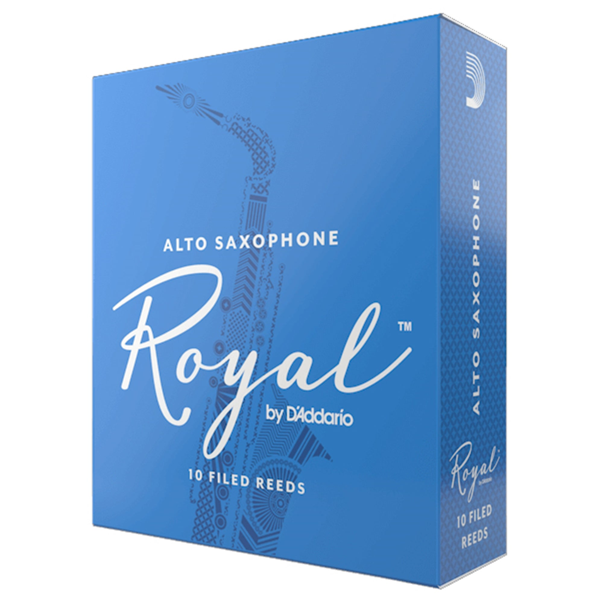RICO ROYAL RJB1030 #3 Alto Sax Reeds, Box of 10