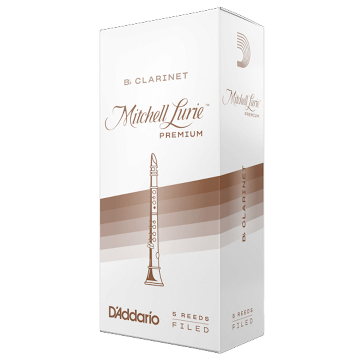 MITCHELL LURIE RMLP5BCL35 #3.5 Clarinet Reeds, Box of 5