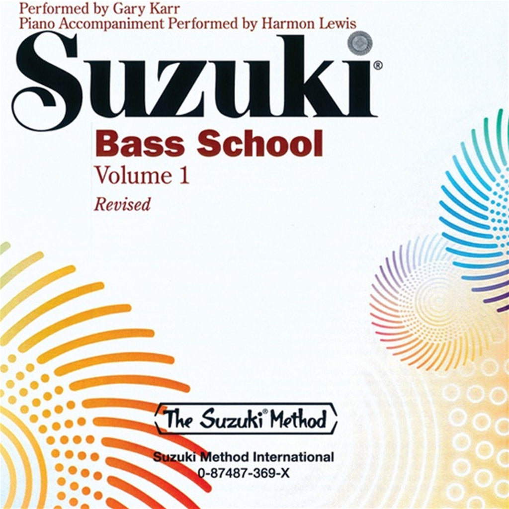 ALFRED 369 Suzuki Bass School CD, Volume 1 [String Bass]