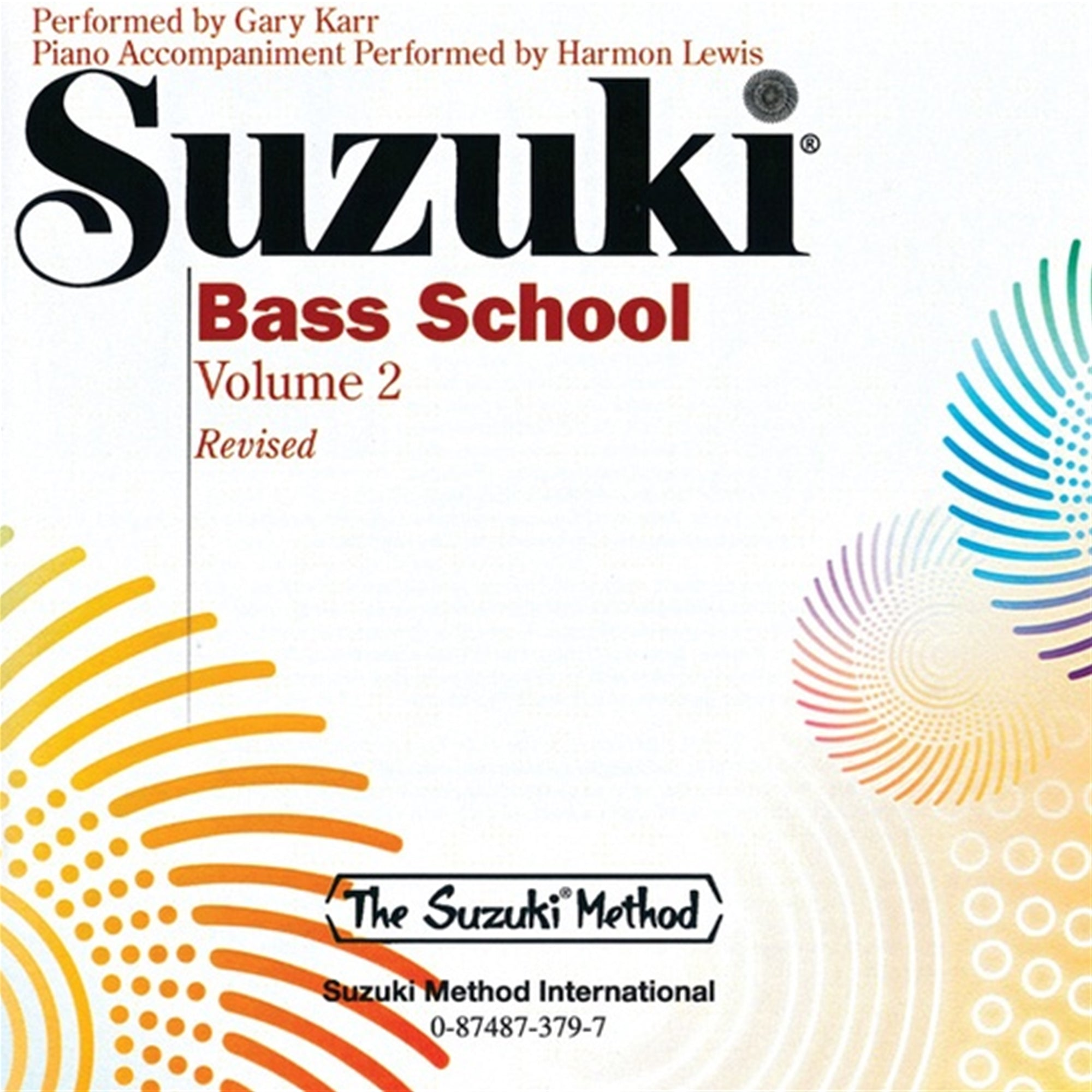 ALFRED 379 Suzuki Bass School CD, Volume 2 [String Bass]
