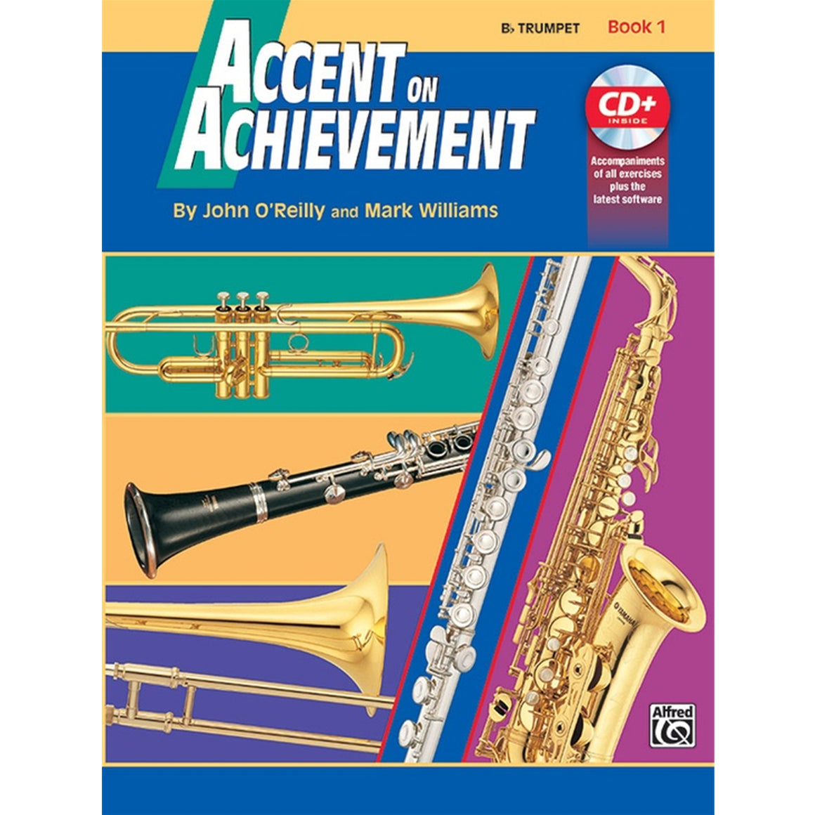ALFRED 17090 Accent on Achievement, Book 1 [B-Flat Trumpet]