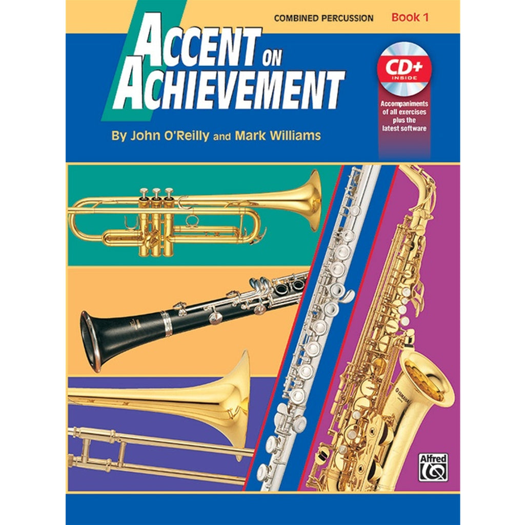 ALFRED 17099 Accent on Achievement, Book 1 [Combined Percussion S.D., B.D., Access. & Mallet Percussion]