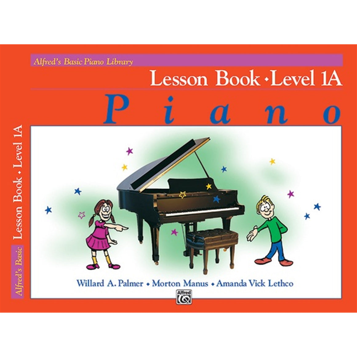 ALFRED 2104 Alfred's Basic Piano Course: Lesson Book 1A [Piano]