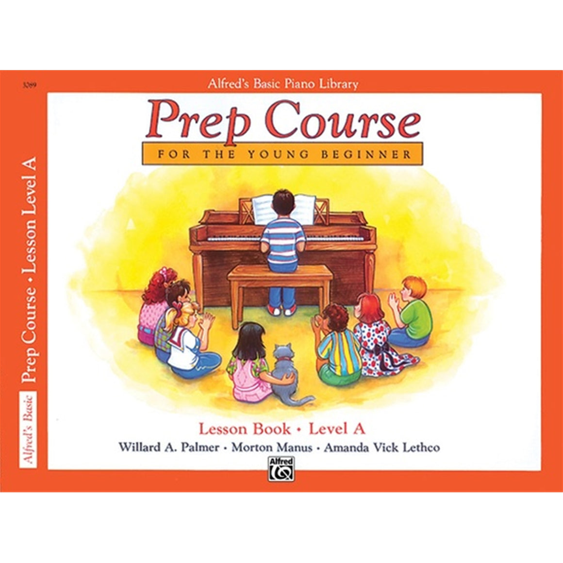 ALFRED 3089 Alfred's Basic Piano Prep Course: Lesson Book A [Piano]