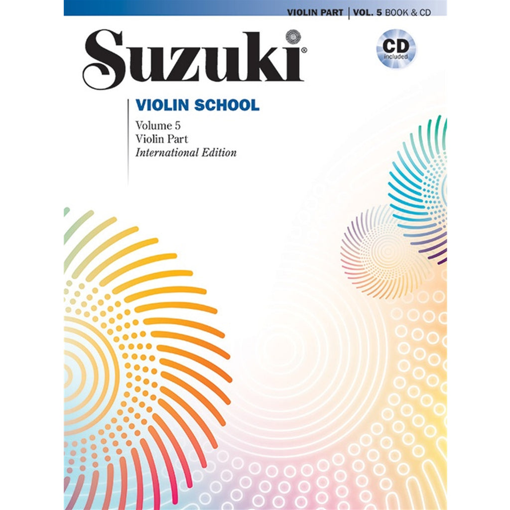ALFRED 32743 Suzuki Violin School Violin Part & CD, Volume 5 [Violin]