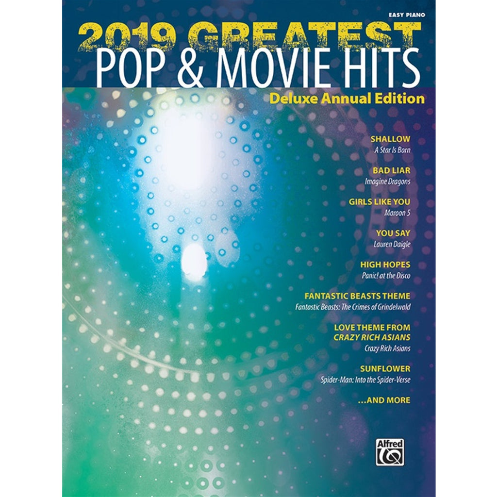 ALFRED 47956 2019 Greatest Pop & Movie Hits [Piano]