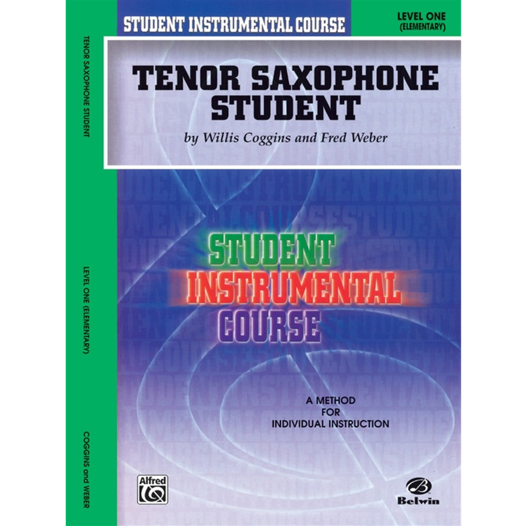 ALFRED 00BIC00136A Student Instrumental Course: Tenor Saxophone Student, Level I [Saxophone]