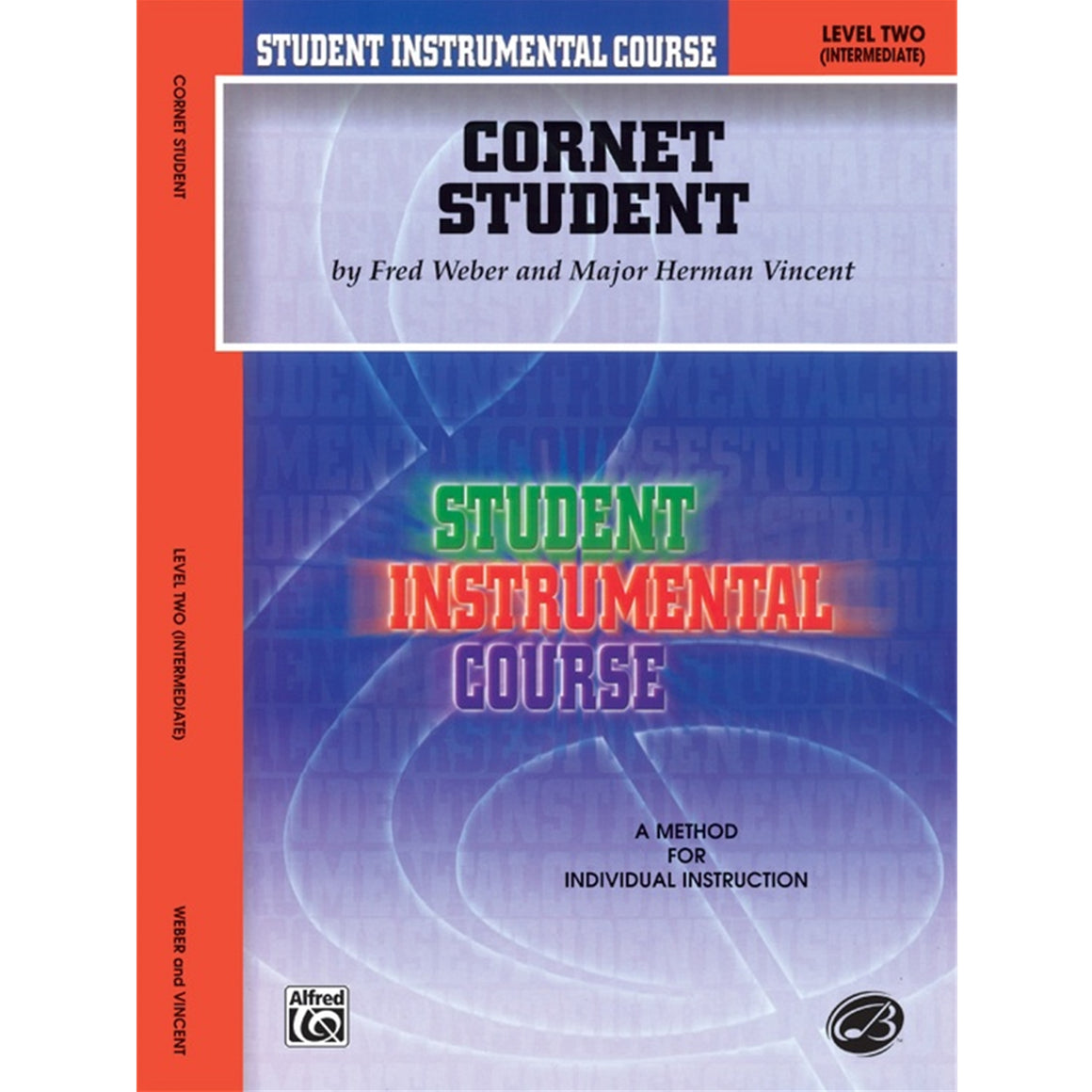 ALFRED BIC00246A Student Instrumental Course: Cornet Student, Level II [Trumpet]