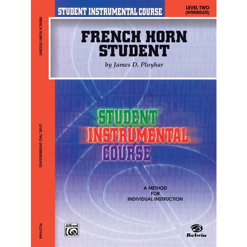 ALFRED BIC00251A Student Instrumental Course: French Horn Student, Level II [French Horn]