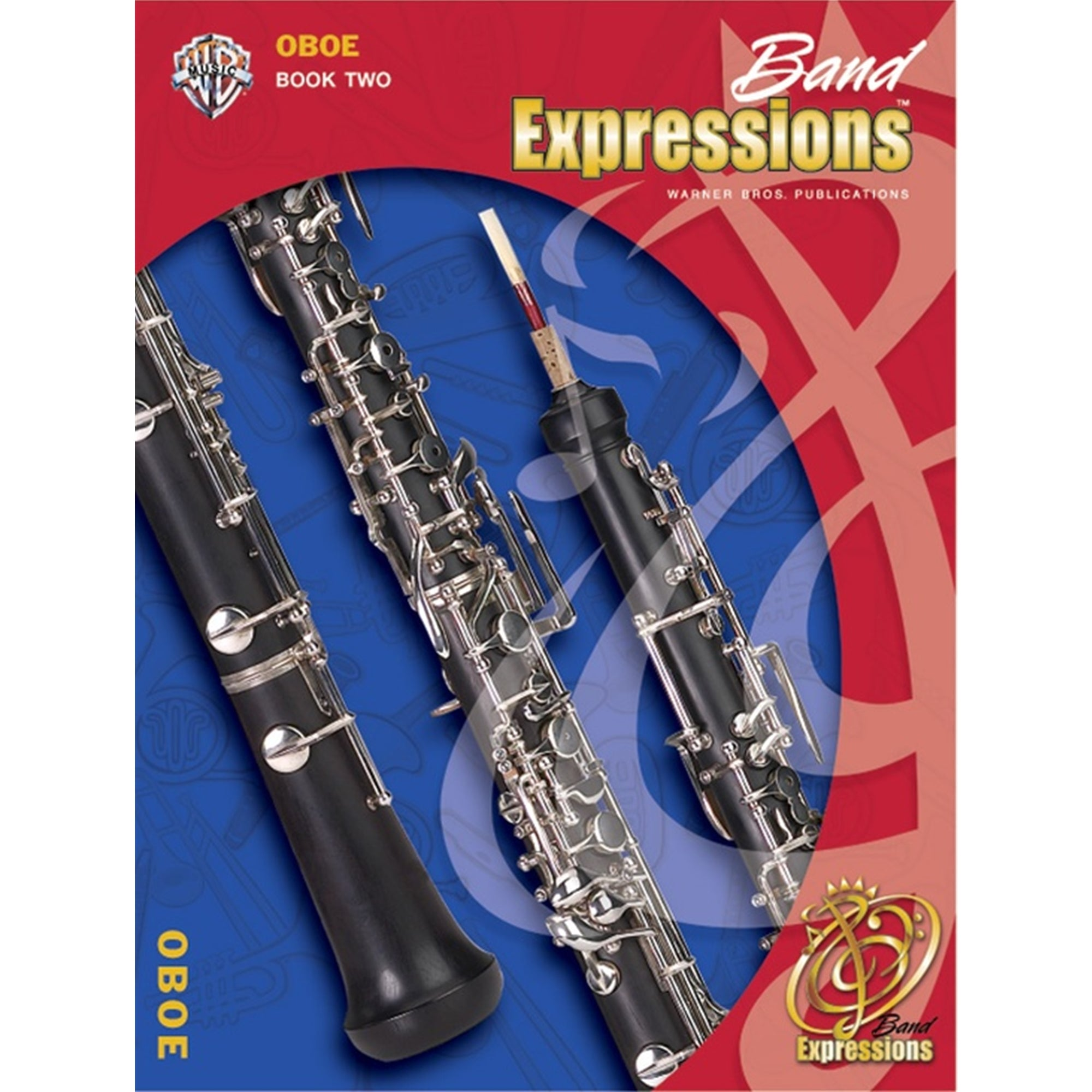 ALFRED 00-EMCB2003CD Band Expressions , Book Two: Student Edition [Oboe]