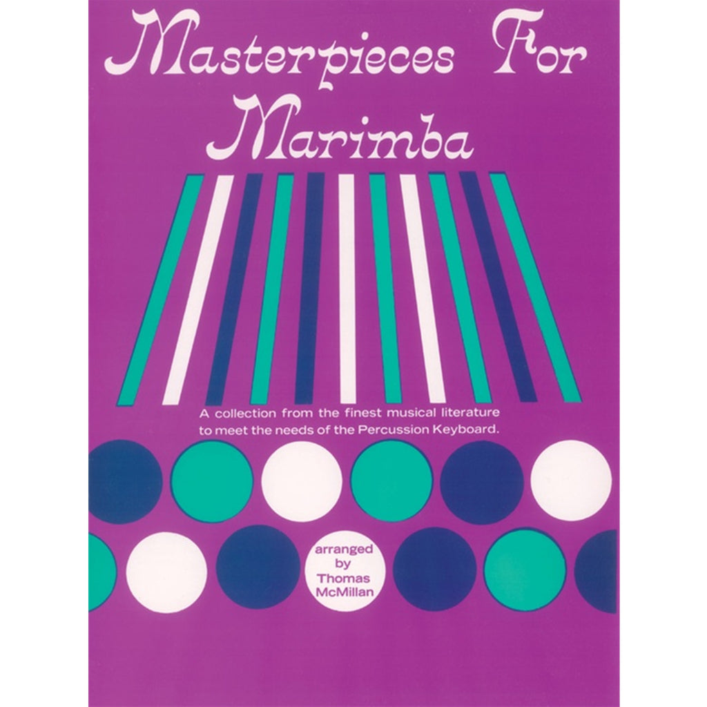 ALFRED PROBK01202 Masterpieces for Marimba [Mallet Instrument]
