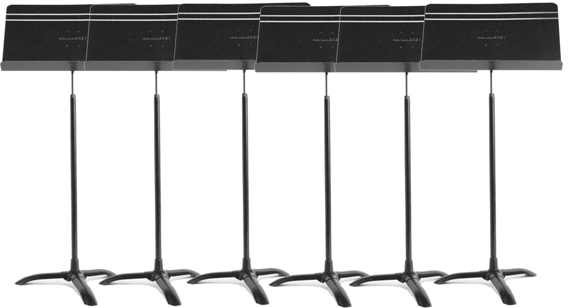 6 Pack Manhasset 48 Symphony Music Stands