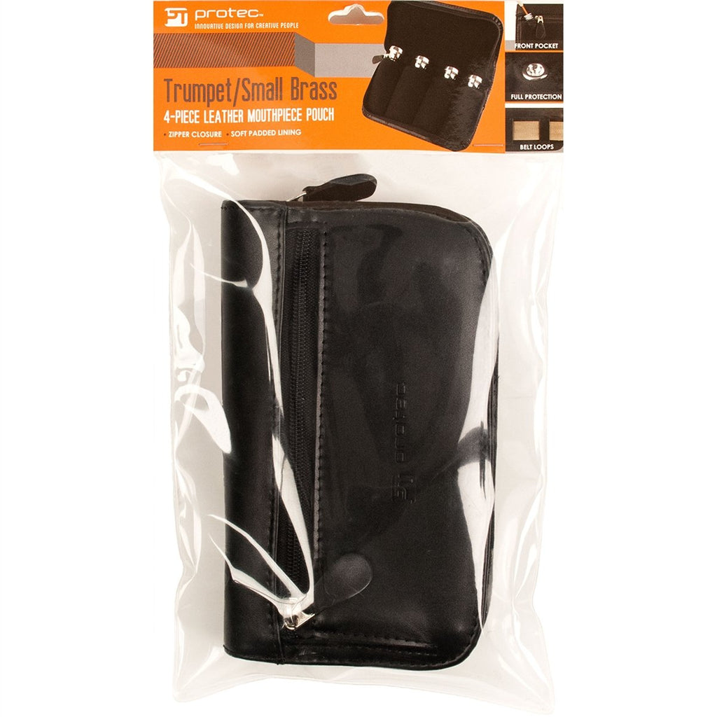 Protec L221 Trumpet Leather Pouch (4 Piece)