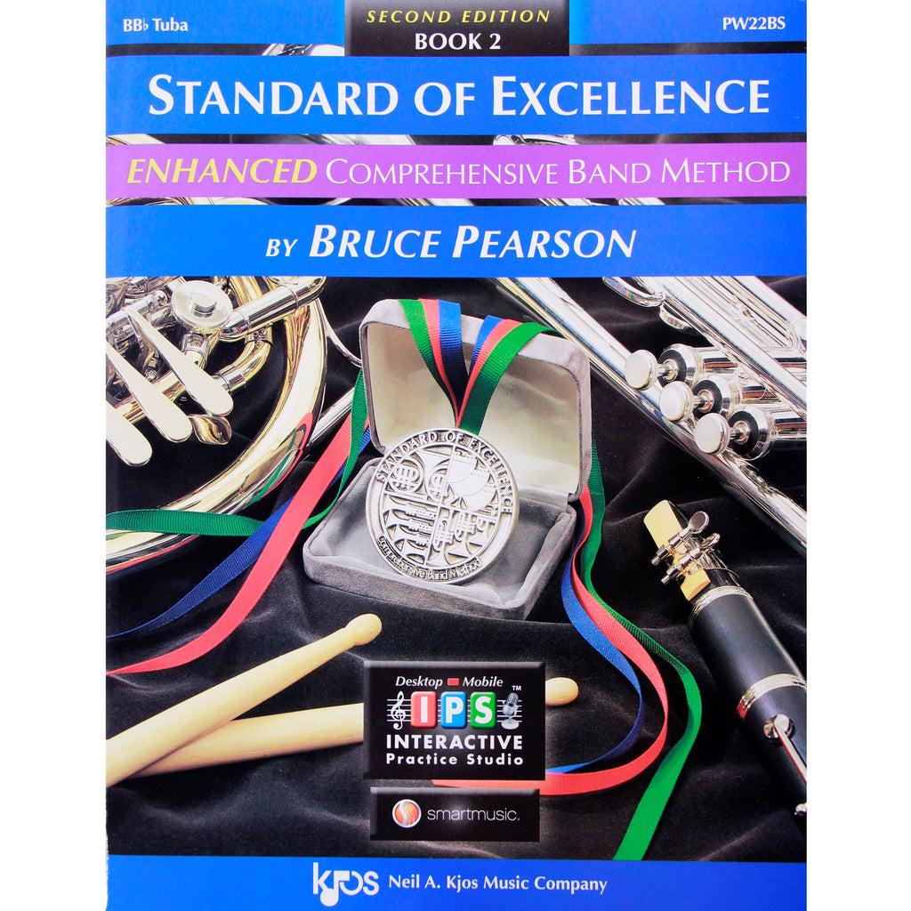 KJOS PW22BS Standard of Excellence Book 2 Tuba
