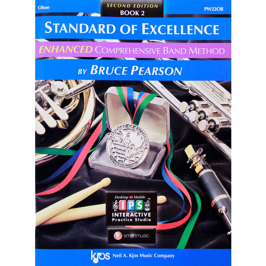 KJOS PW22OB Standard of Excellence Book 2 Oboe