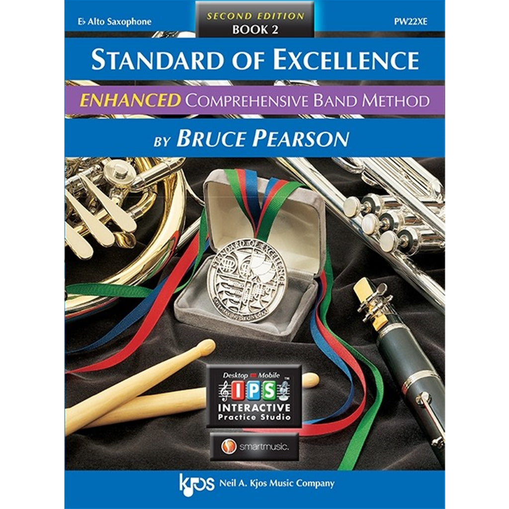 KJOS PW22XE Standard of Excellence Book 2 Alto Saxophone