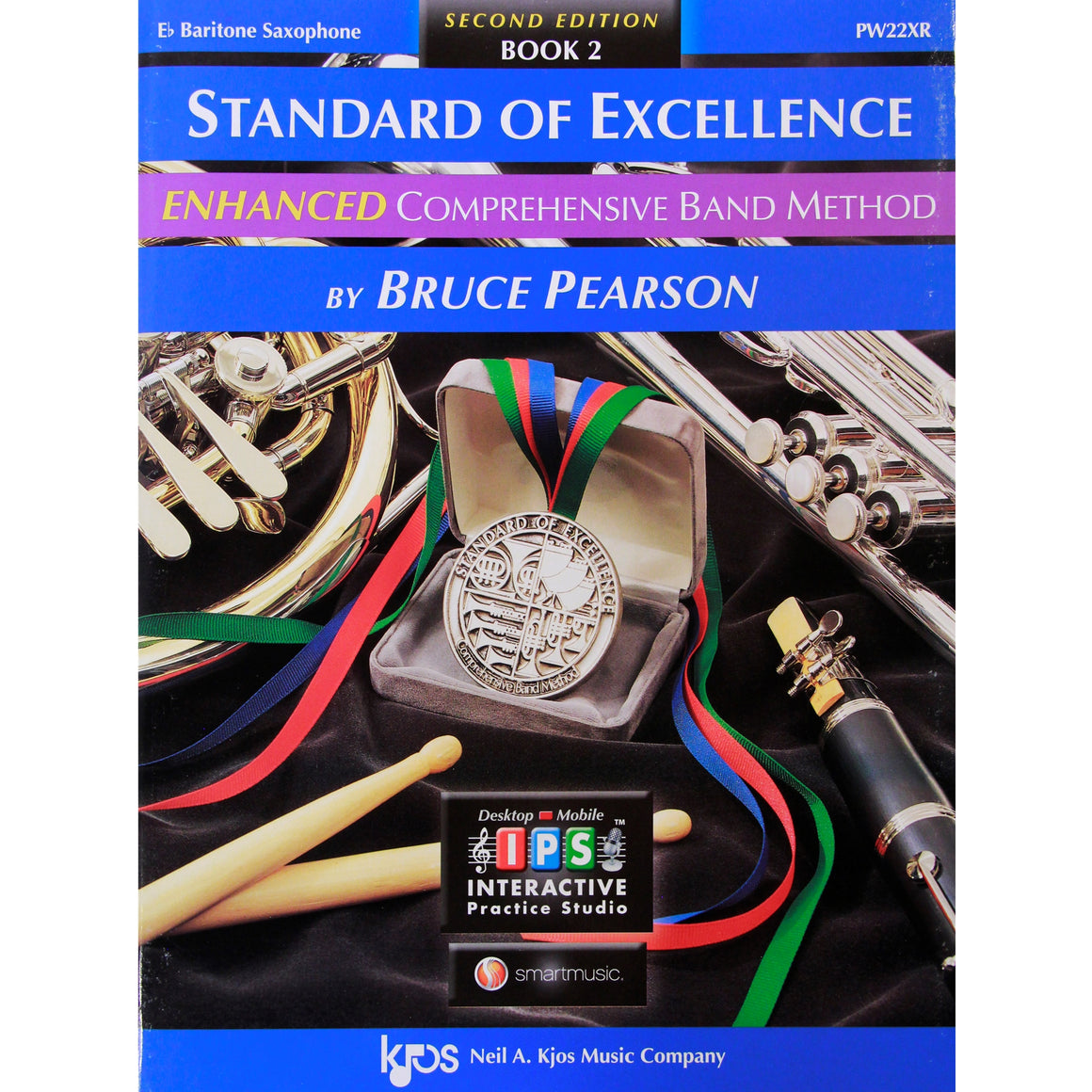 KJOS PW22XR Standard of Excellence Book 2 Bari Saxophone