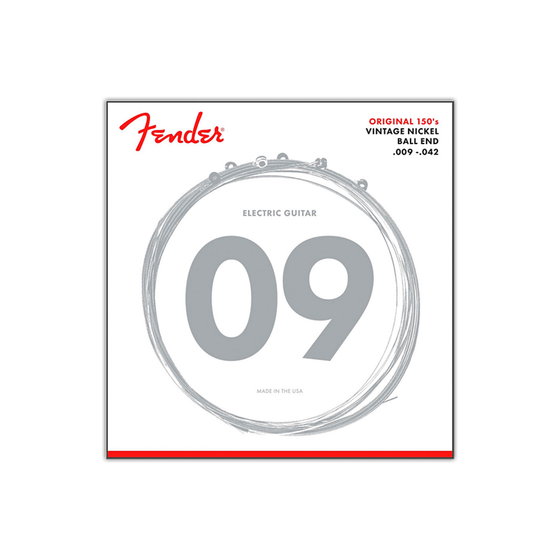 FENDER 150L Electric Strings Nickel Light 9-42