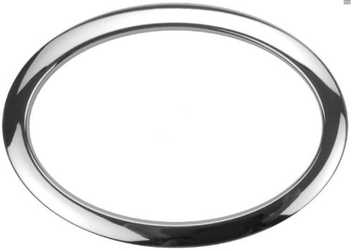 "Bass Drum O's HOC6 6"" Chrome Oval Bass Ring"