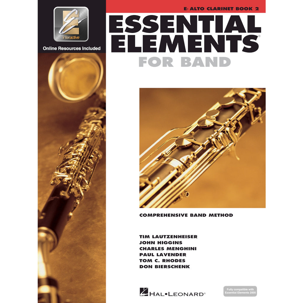 HAL LEONARD HL00862592 Essential Elements Alto Clarinet Book 2
