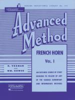 HAL LEONARD HL04470440 Rubank Advanced Method - French Horn Vol. 1