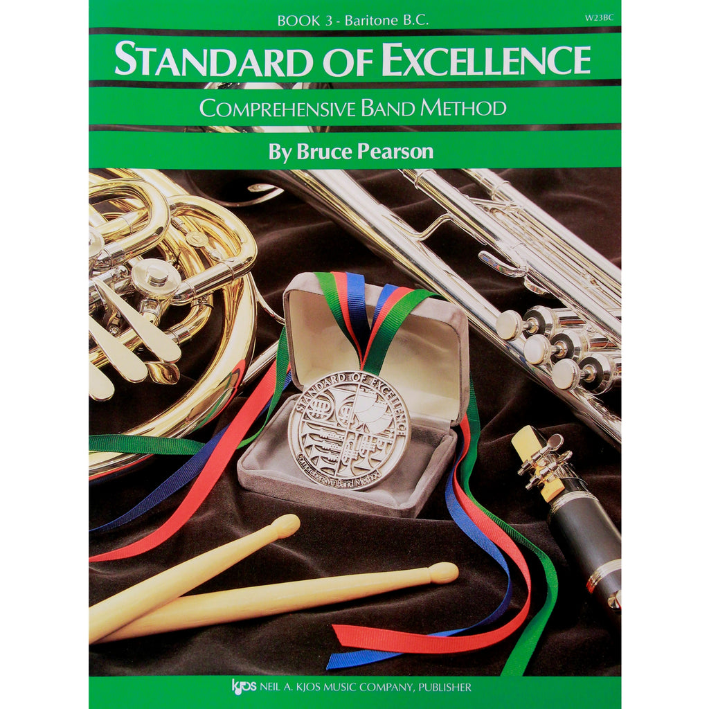 KJOS W23BC Standard of Excellence Book 3 Baritone BC