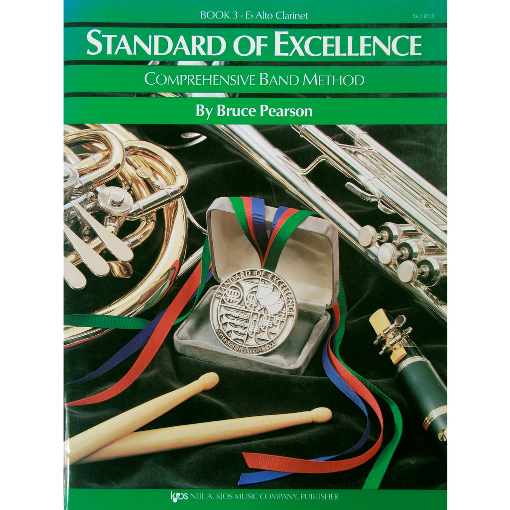 KJOS W23CLE Standard of Excellence Book 3 Alto Clarinet