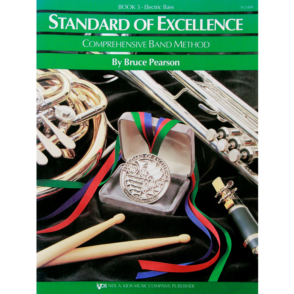 KJOS W23EBS Standard of Excellence Book 3 Electric Bass