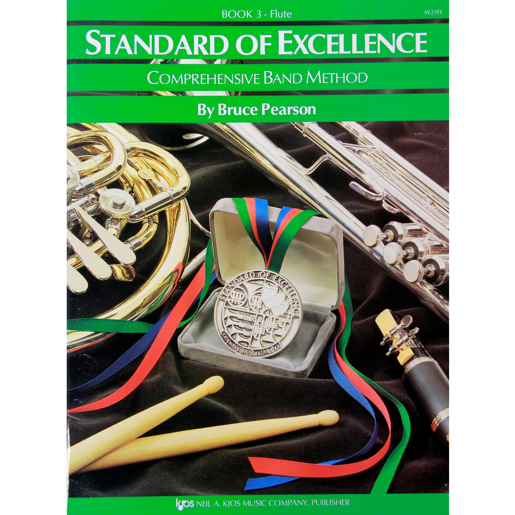 KJOS W23FL Standard of Excellence Book 3 Flute