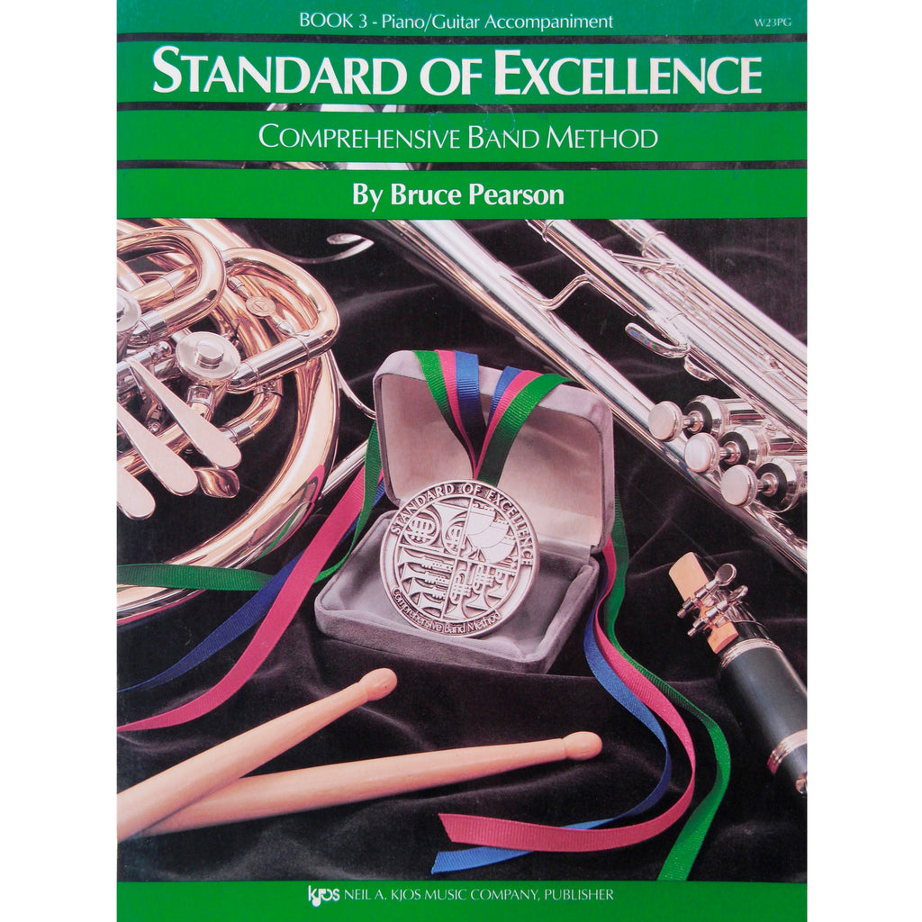 KJOS W23PG Standard of Excellence Book 3 Piano/Guitar Accompaniment