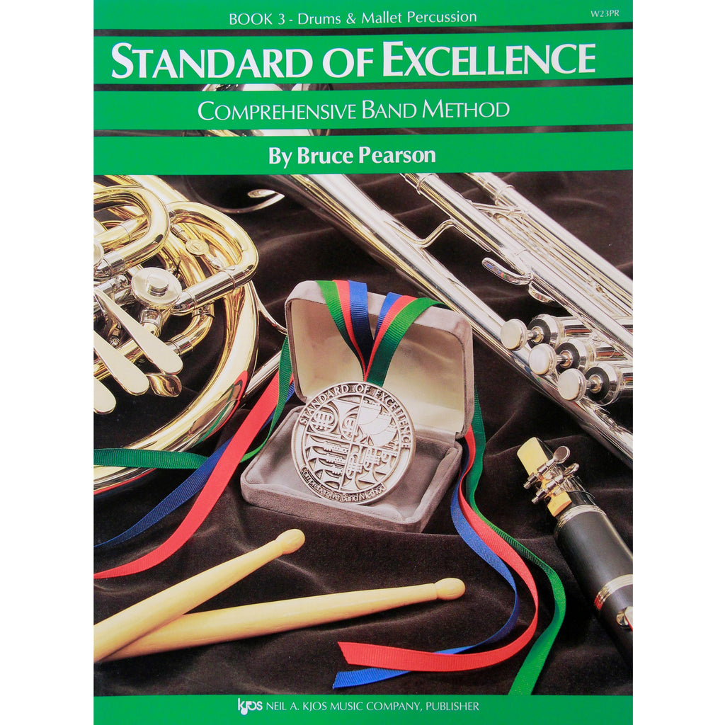 KJOS W23PR Standard of Excellence Book 3 Percussion