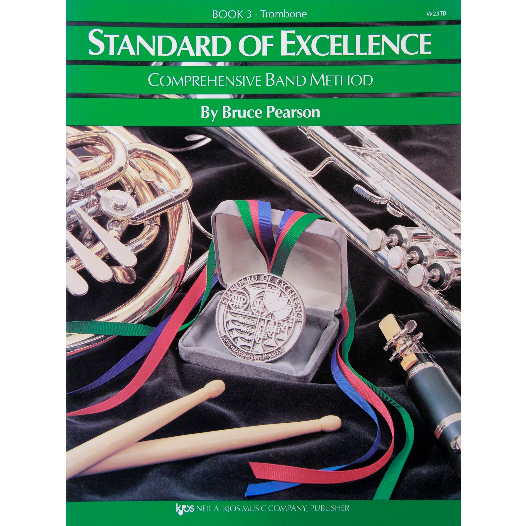 KJOS W23TB Standard of Excellence Book 3 Trombone