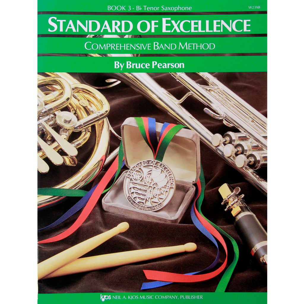 KJOS W23XB Standard of Excellence Book 3 Tenor Sax