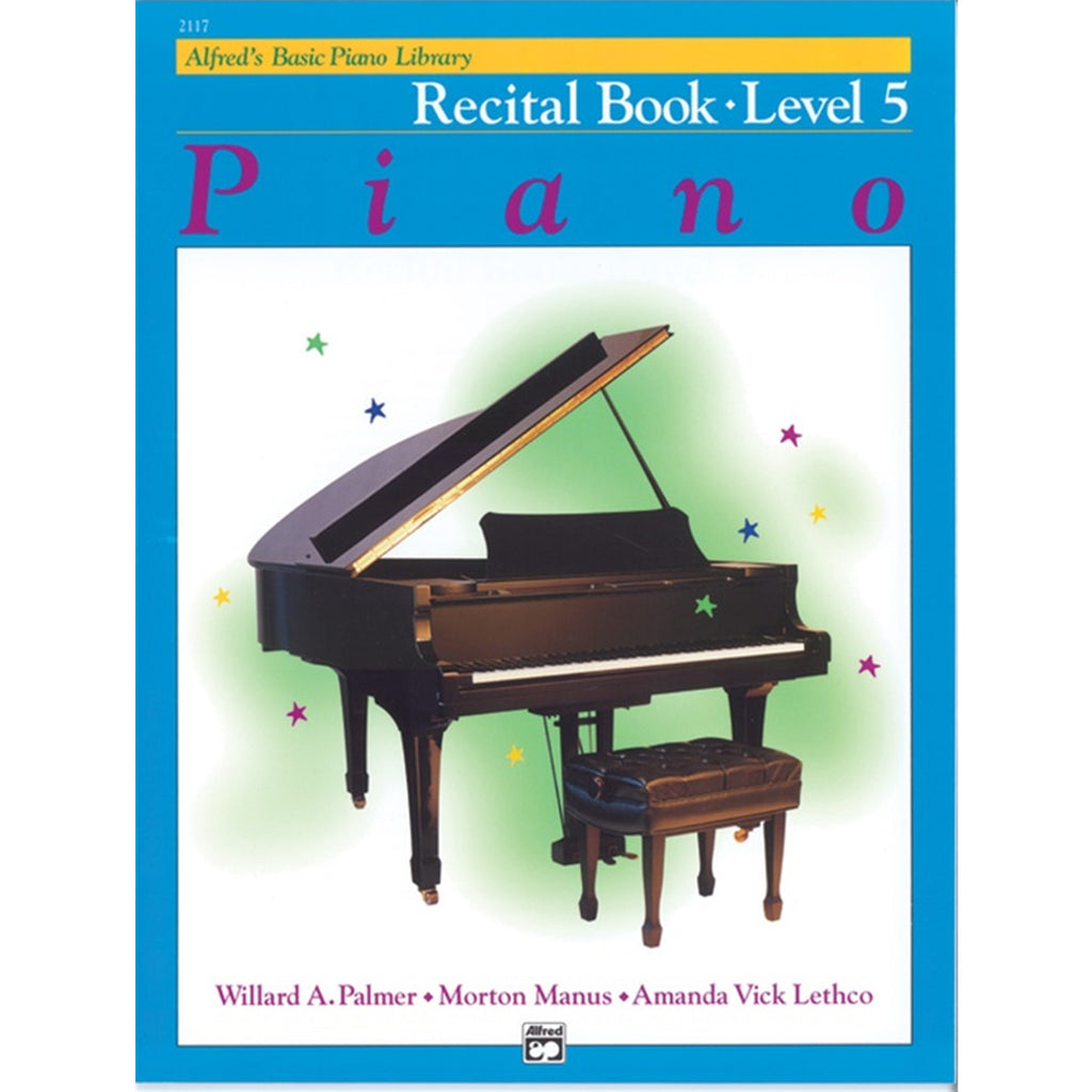 ALFRED 2117 Alfred's Basic Piano Course - Recital Book (Level 5)