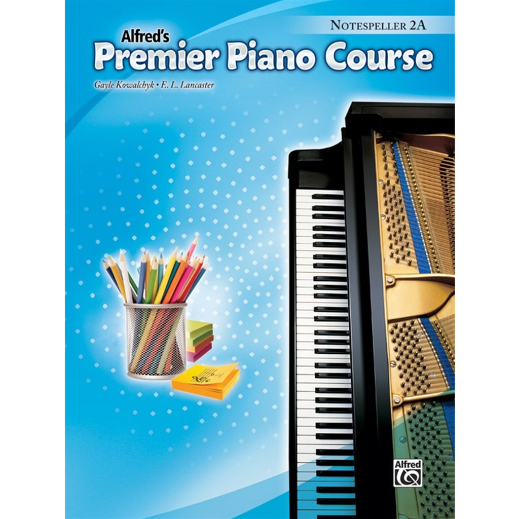 ALFRED 42682 Alfred's Premier Piano - Notespeller 2A