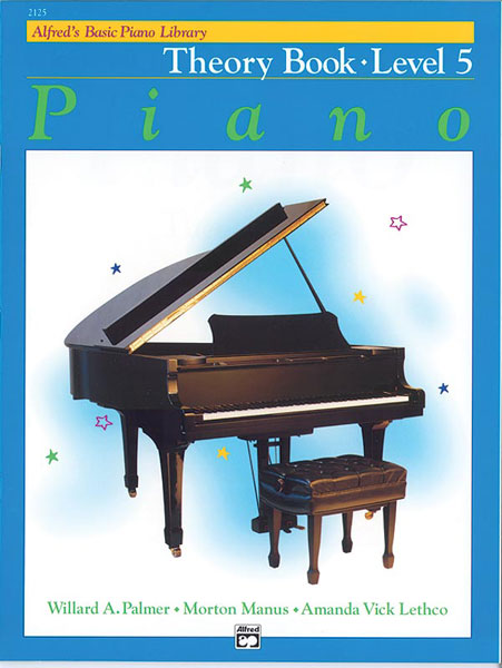 ALFRED 2125 Alfred's Basic Piano Course: Theory Book 5